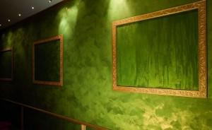 Декоративная краска с эффектом шелка. Примеры и фото