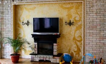 Декоративные краски с различными эффектами для стен