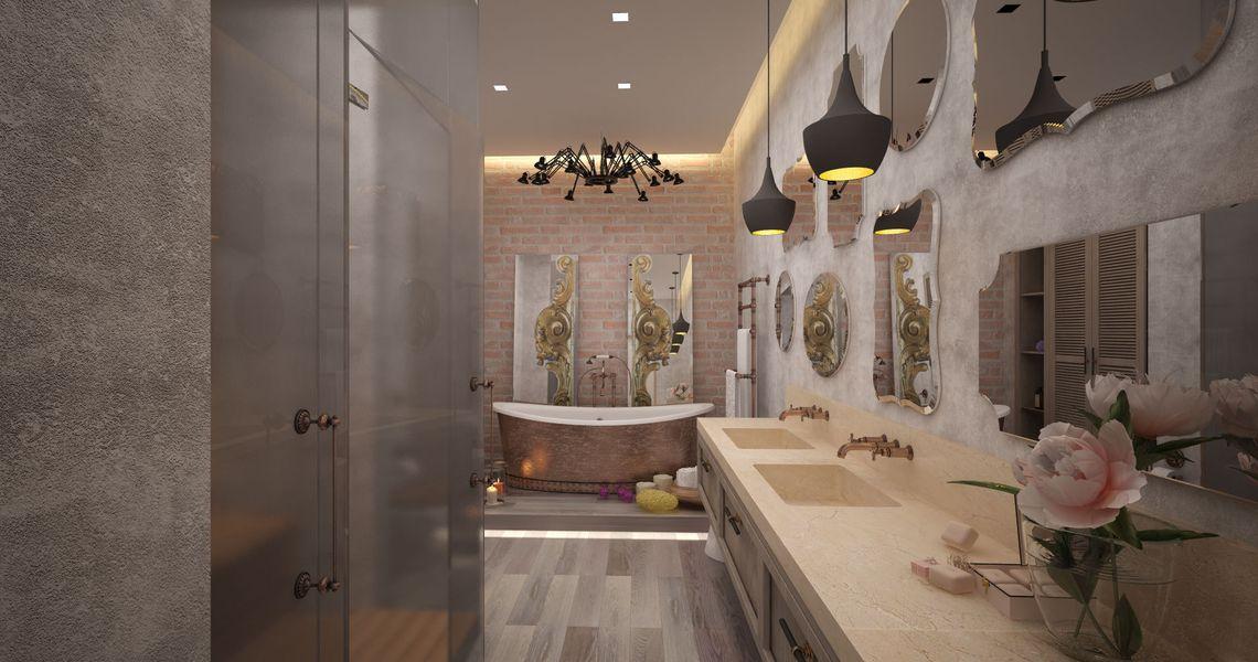 Штукатурка ванной комнаты цементным раствором фасад бетон светлый