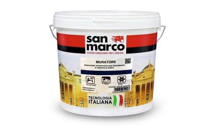 Muratore  (Мураторе) -  фактурная штукатурка от San Marco