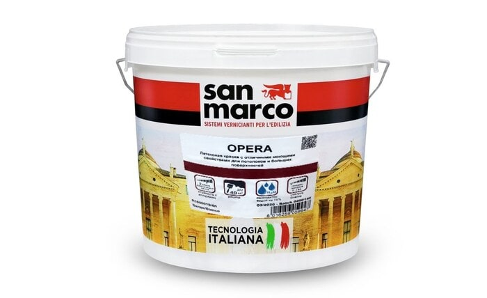 Opera  (Опера)  - интерьерная краска от San Marco Russia
