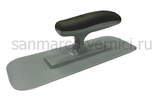 Кельма пластиковая с закругленными краями 240*90 мм D1147