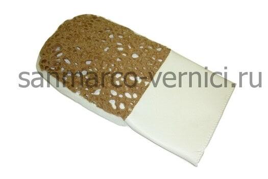 Перчатка губка и ткань