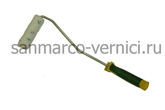 Валик микрофибра 100 мм с ручкой