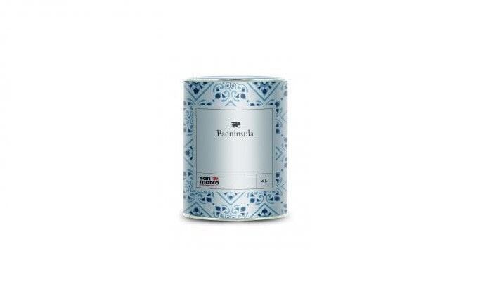 Paeninsula Eggshell (Пенинсула Эгшел) - матовая декоративная краска от San Marco Russia