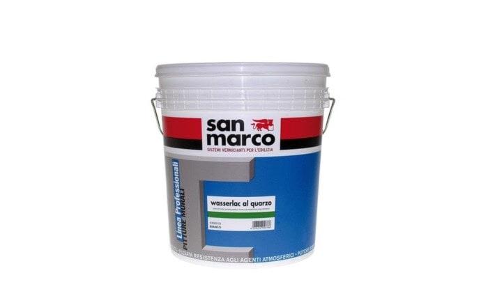 Wasserlac Al Quarzo (Вассерлак Аль Кварцо) - интерьерная и фасадная краска от San Marco