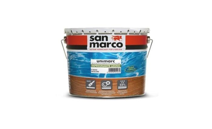 Защитная пропитка для дерева San Marco Unimarc Impregnante Legno (Унимарк Пропитка Для Дерева)