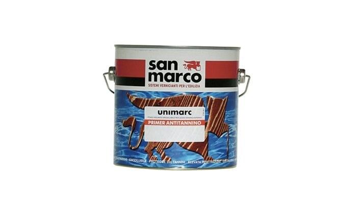 Грунтовка для дерева San Marco Unimarc Primer Antitanino (Унимарк Грутн Антитаниновый)