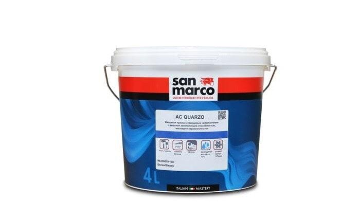AC Quarzo (АС Кварцо) - фасадная краска от San Marco Russia