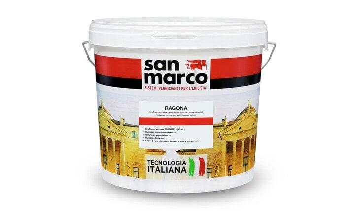 Ragona (Рагона) - интерьерная краска от San Marco Russia