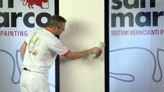 Рильево - эффект каменная стена