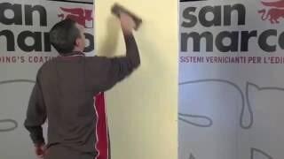 marmorino classico + velature rete effect