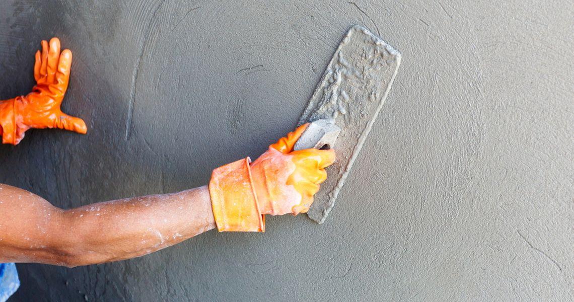 затирка цементно песчаной штукатурки
